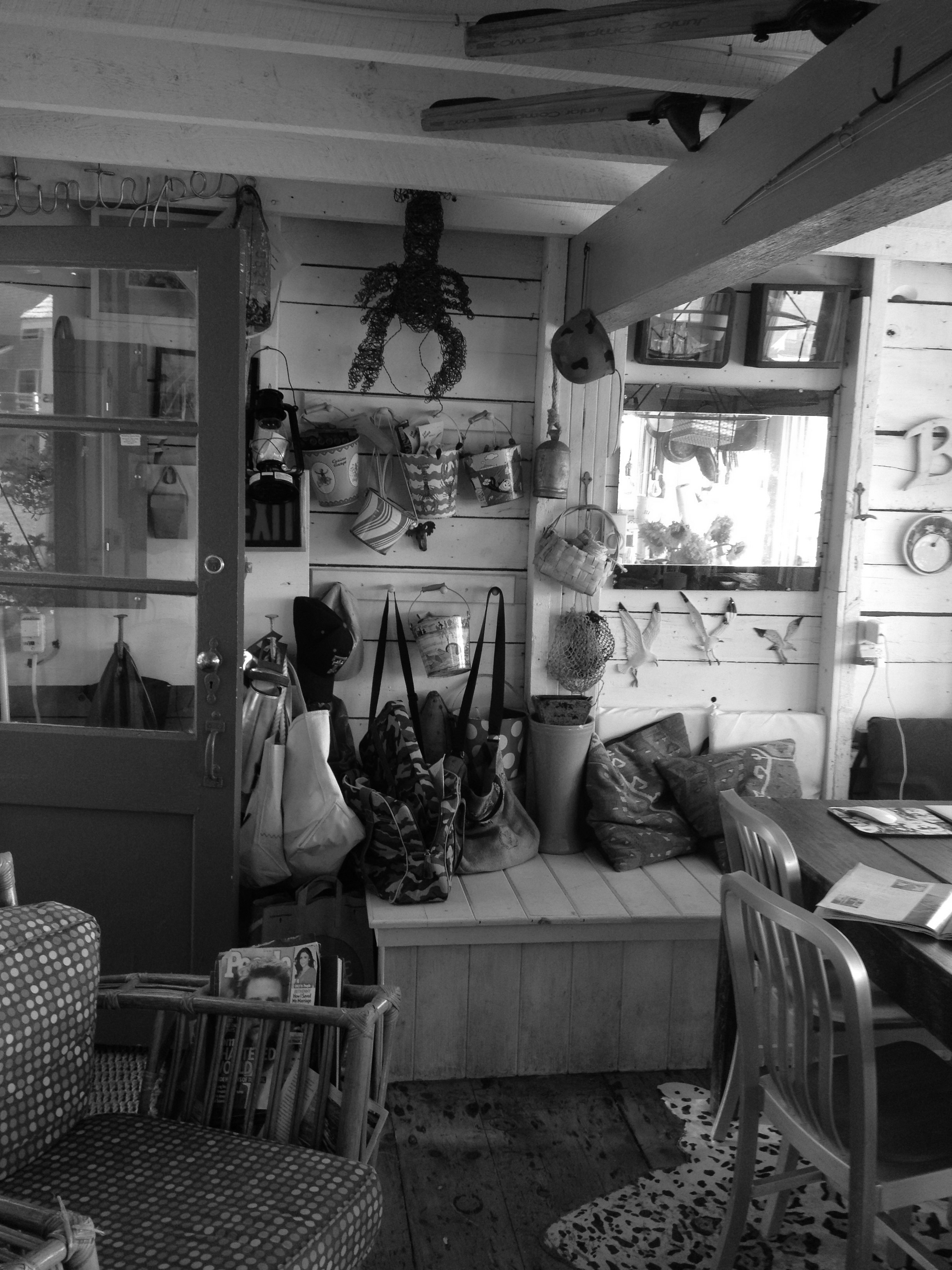 Existing Maine Fishing Shack, Georgetown Maine