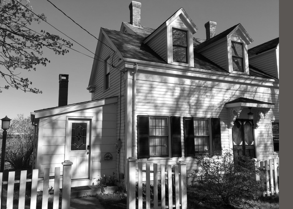 South Portland, Maine, front elevation