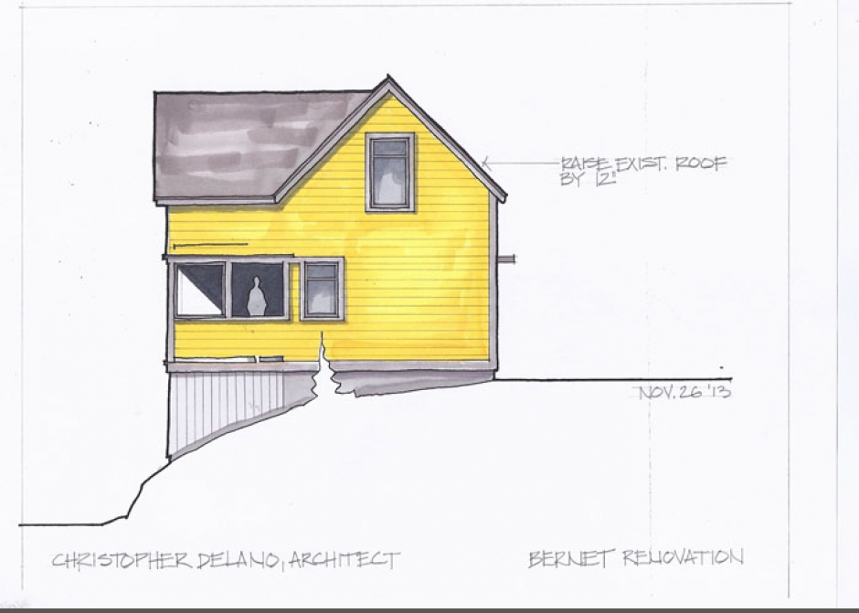 Cottage renovation, Maine Architect, Maine renovation