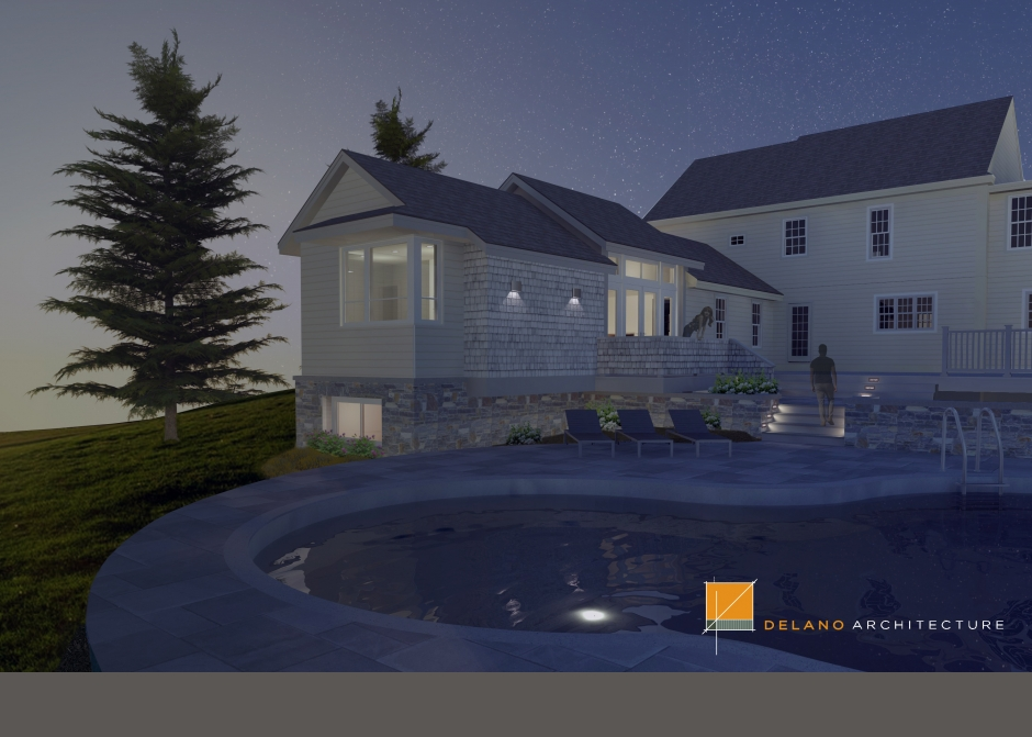 Design Rendering, Maine Architect, Sketchup rendering