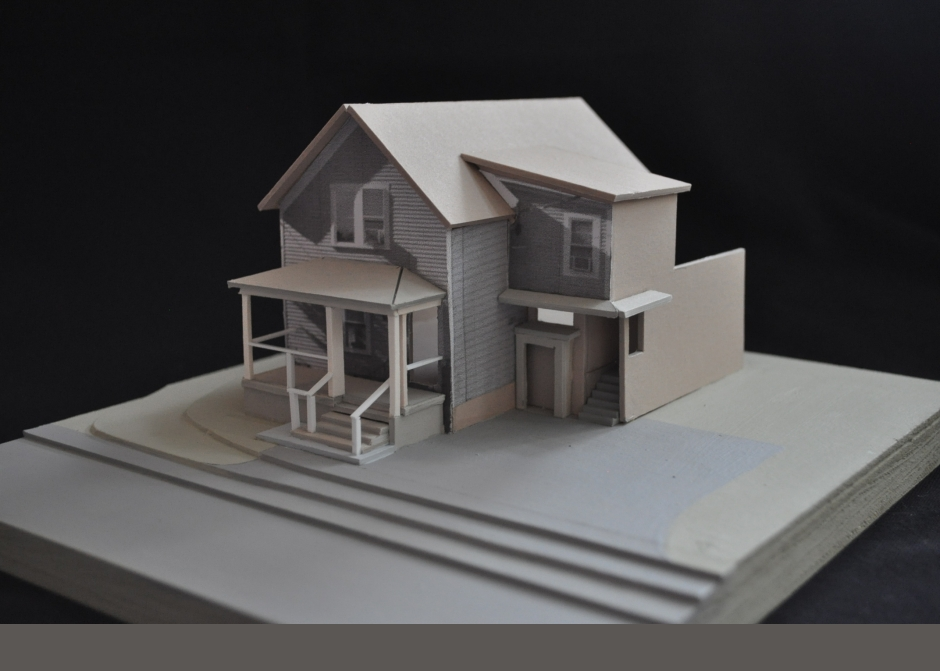 Design Model, Maine Architect, Architectural Model