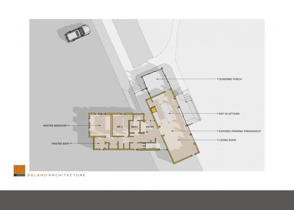 Architecture Plan, Waterfront home, Maine home, floor plan, design plan