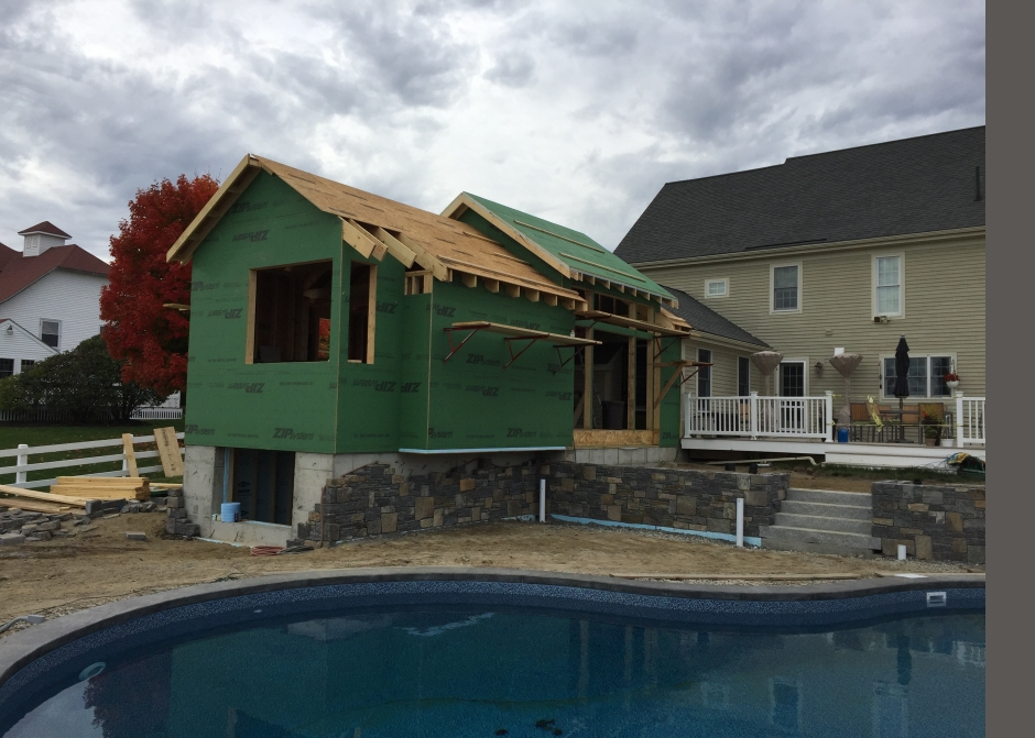 Construction 2015, Zip Sheathing, Maine Architect