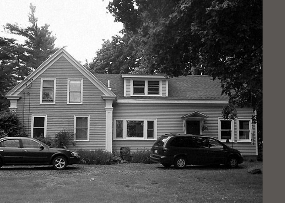 existing house, historic house, Maine home
