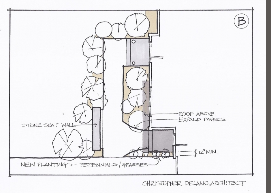 Maine Architect, Design Sketch