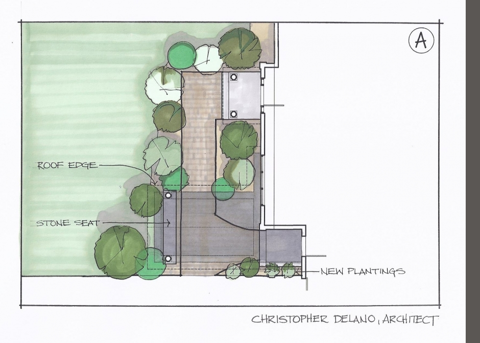 Architect rendering, Maine Architect