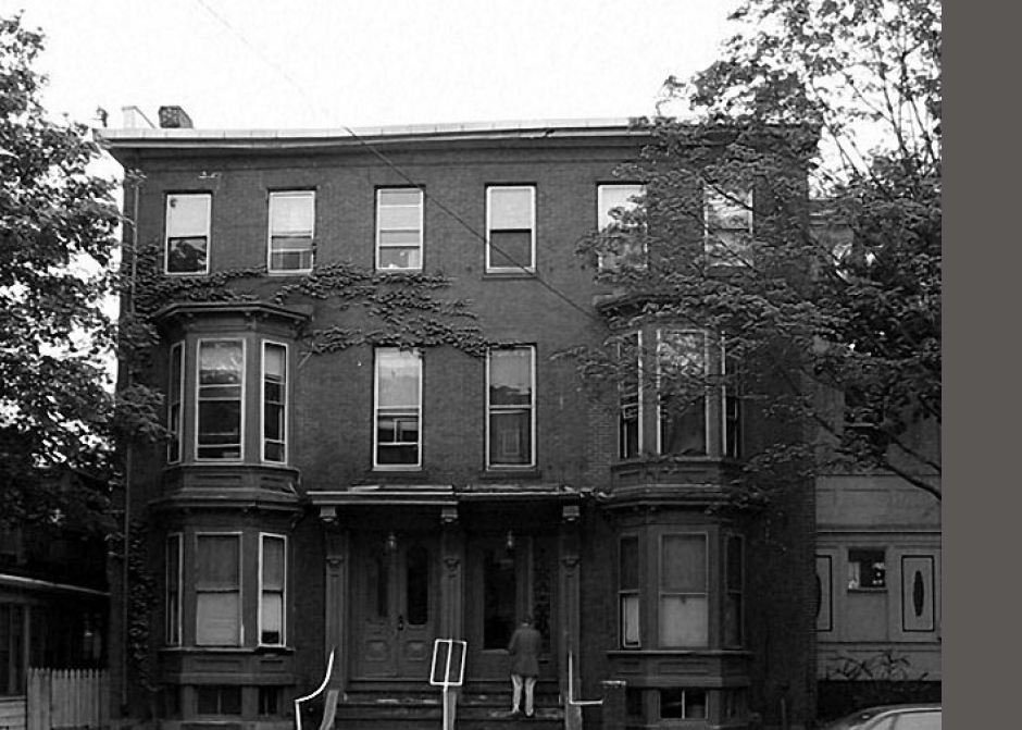 Italianate style building, load bearing brick, historic structure