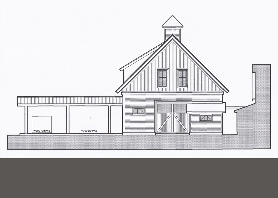 Architectural Drawing, Maine Architect
