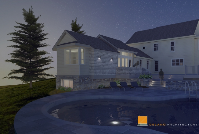 Scarborough Master Suite Addition And Landscape