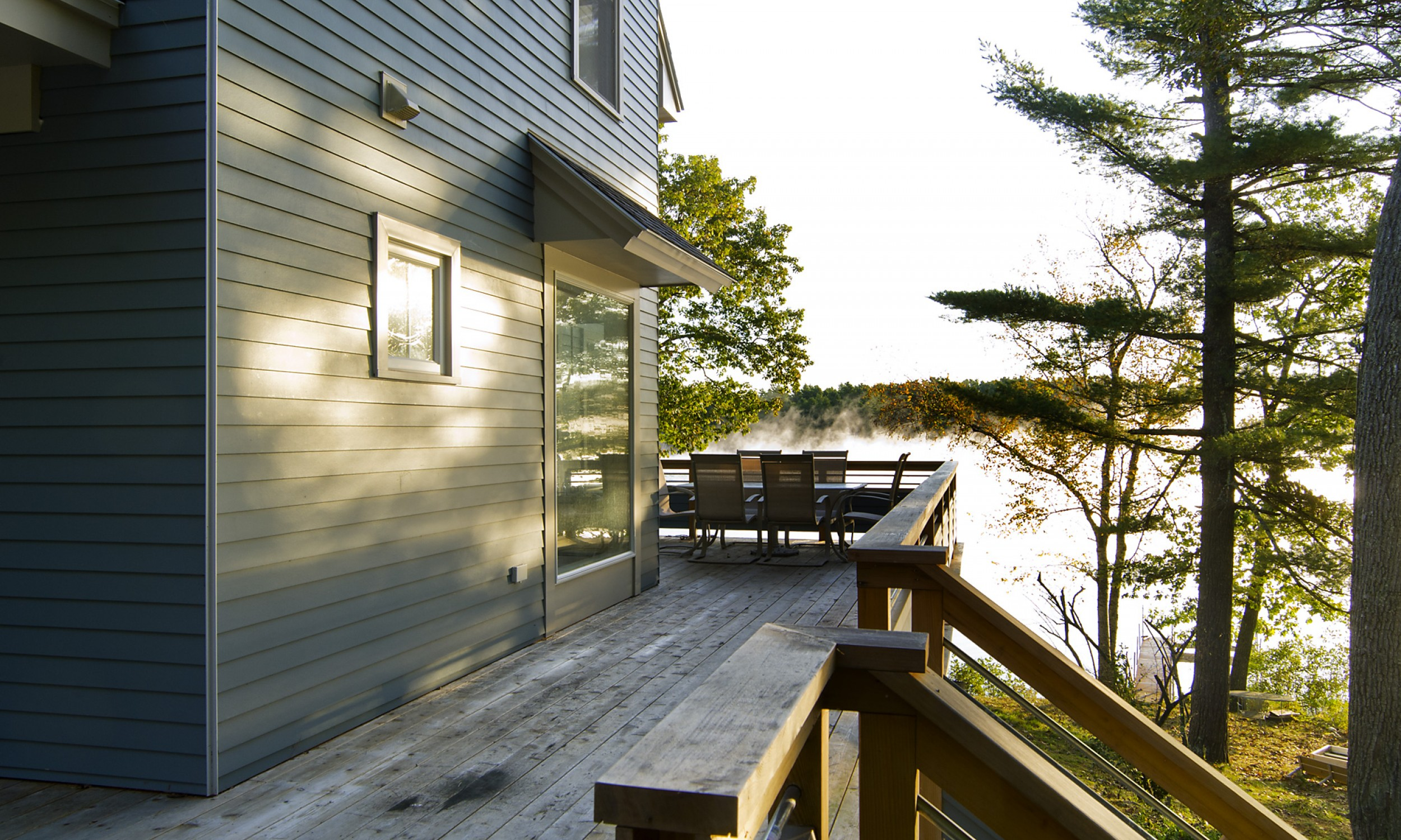 Lake House Deck