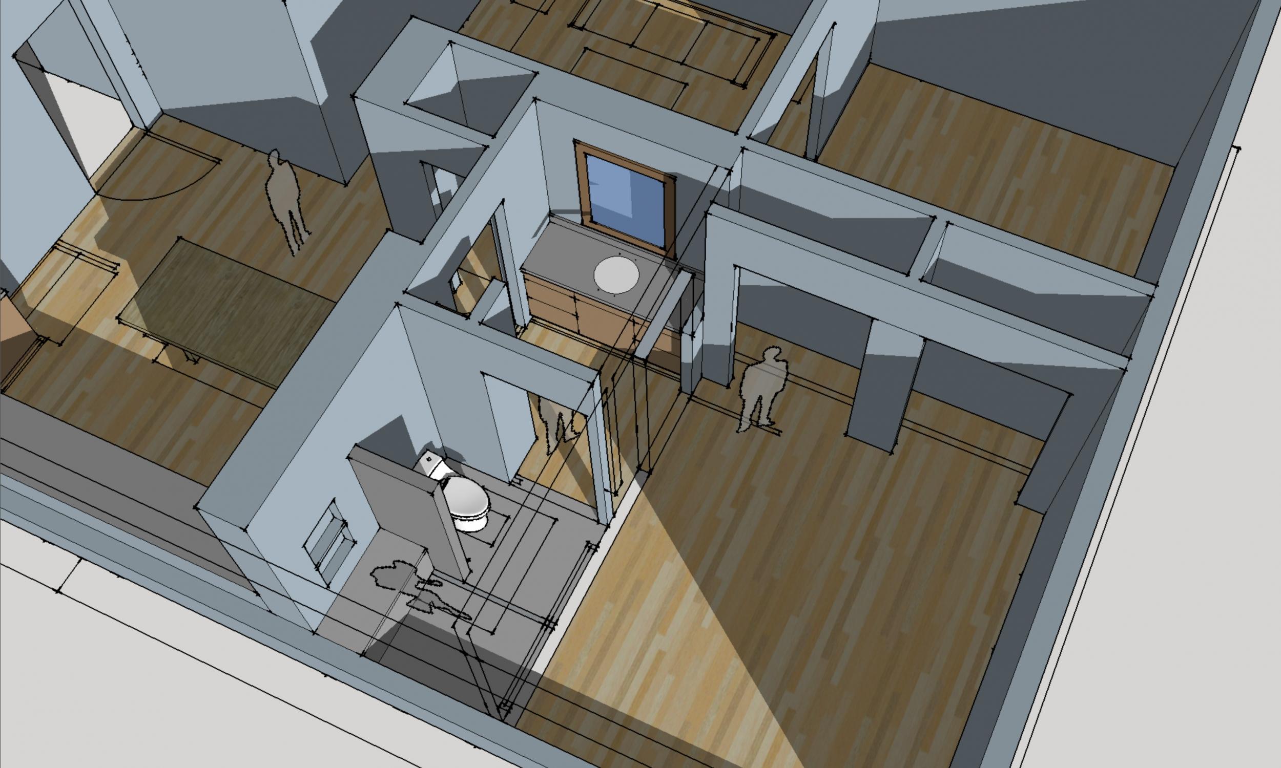 Falmouth Farmhouse Design Rendering