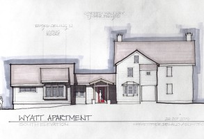 Falmouth Farmhouse Rendering