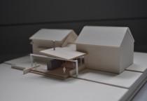 Architect Model, Maine architect, Falmouth architect, Rear Patio