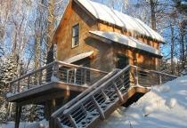 Cedar Shingles, ski home, Maine Architect, Mountain Home