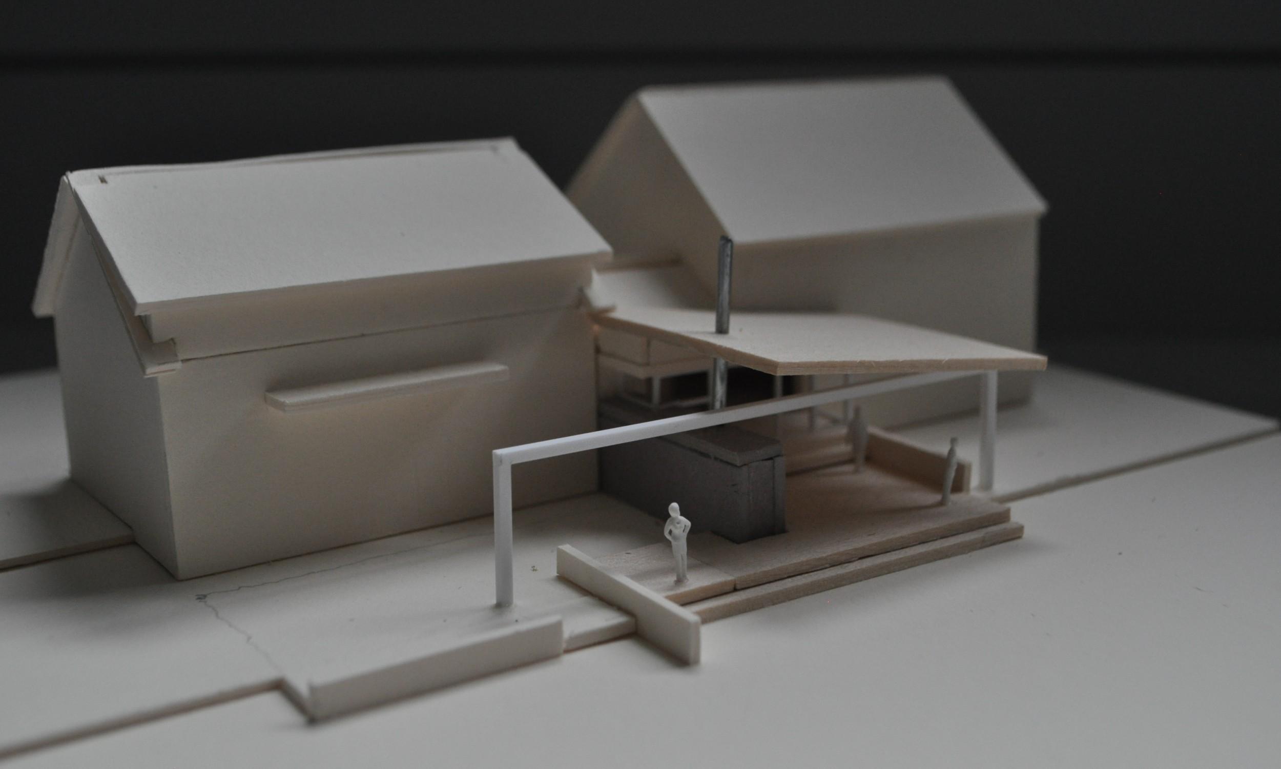 Architecture Model, Falmouth Architect, Maine Design, Landscape Design