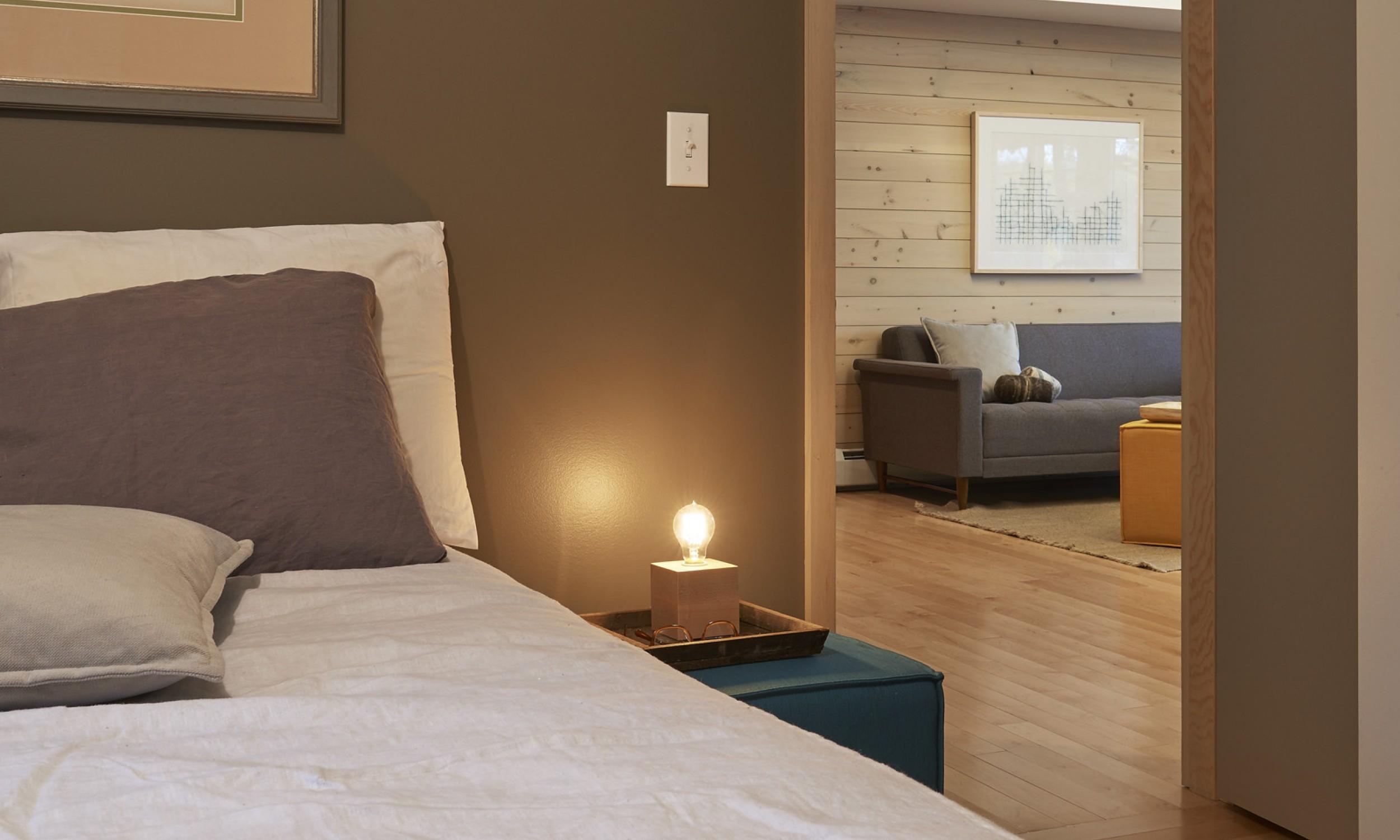 Bedroom photo, Maine Architect, Sherwin Williams paint