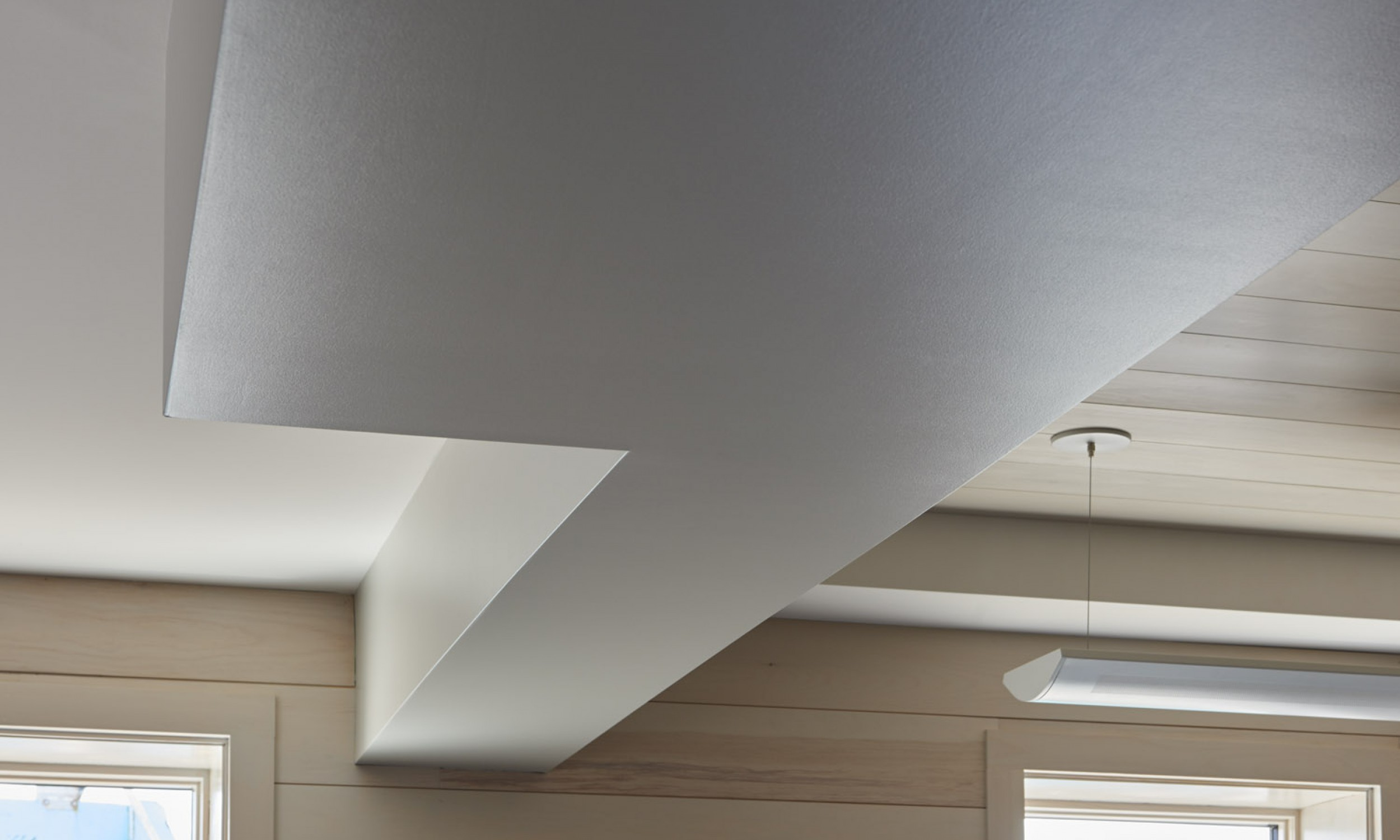 Ceiling Detail, Drywall detail