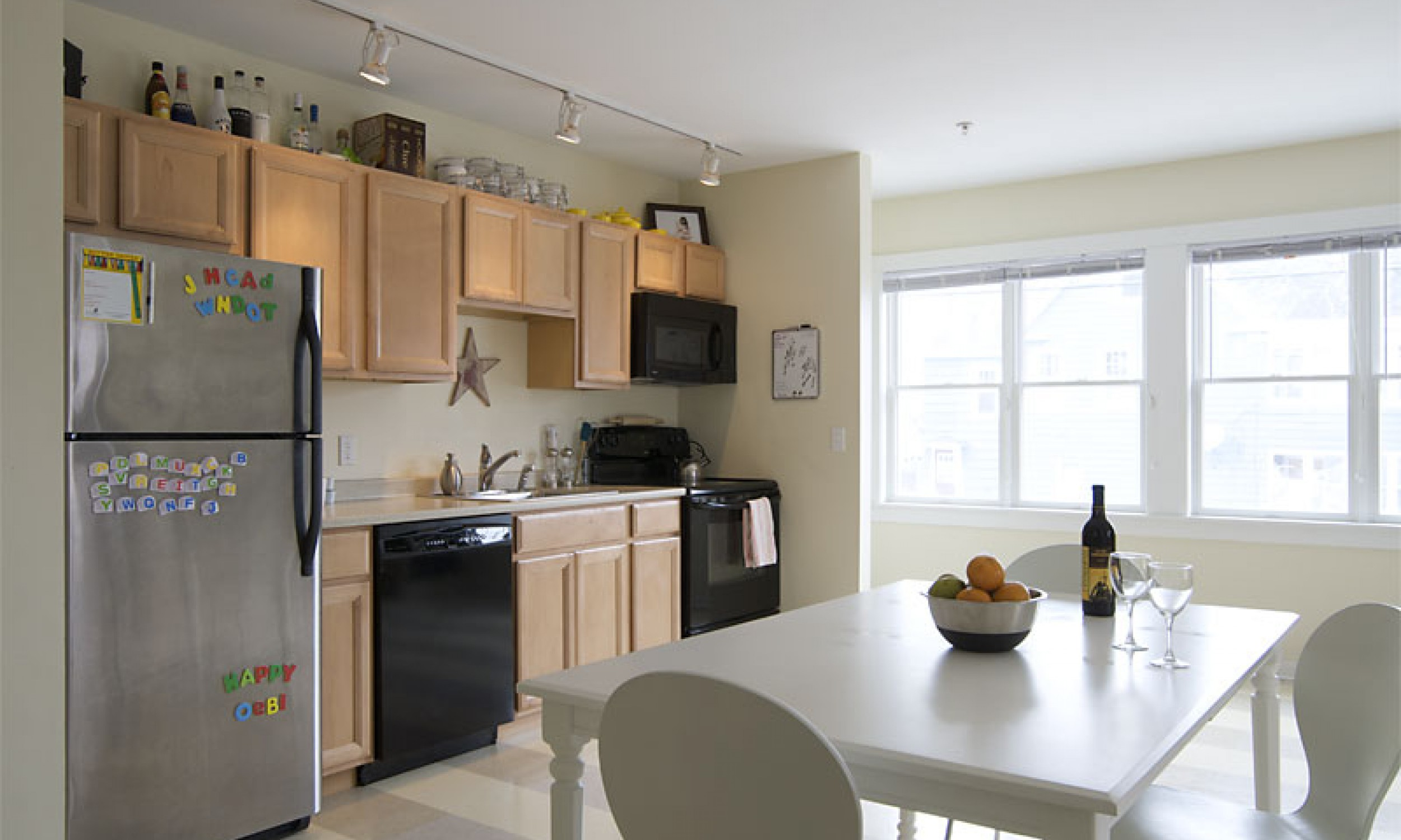 Kitchen, Interior Design, Maine Architect, Apartment Living