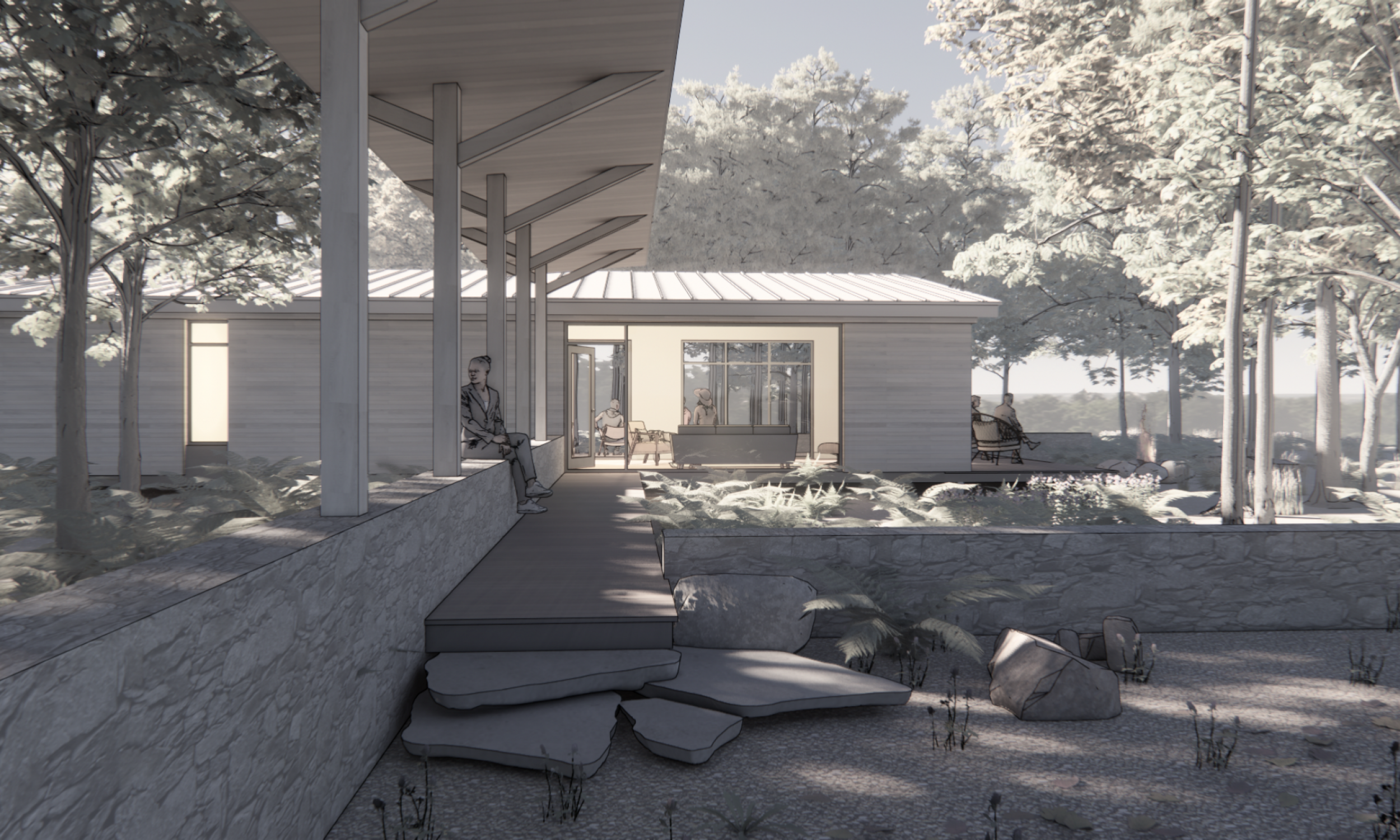 Maine Architect, Sustainable design, Natural materials, Prefabricated construction
