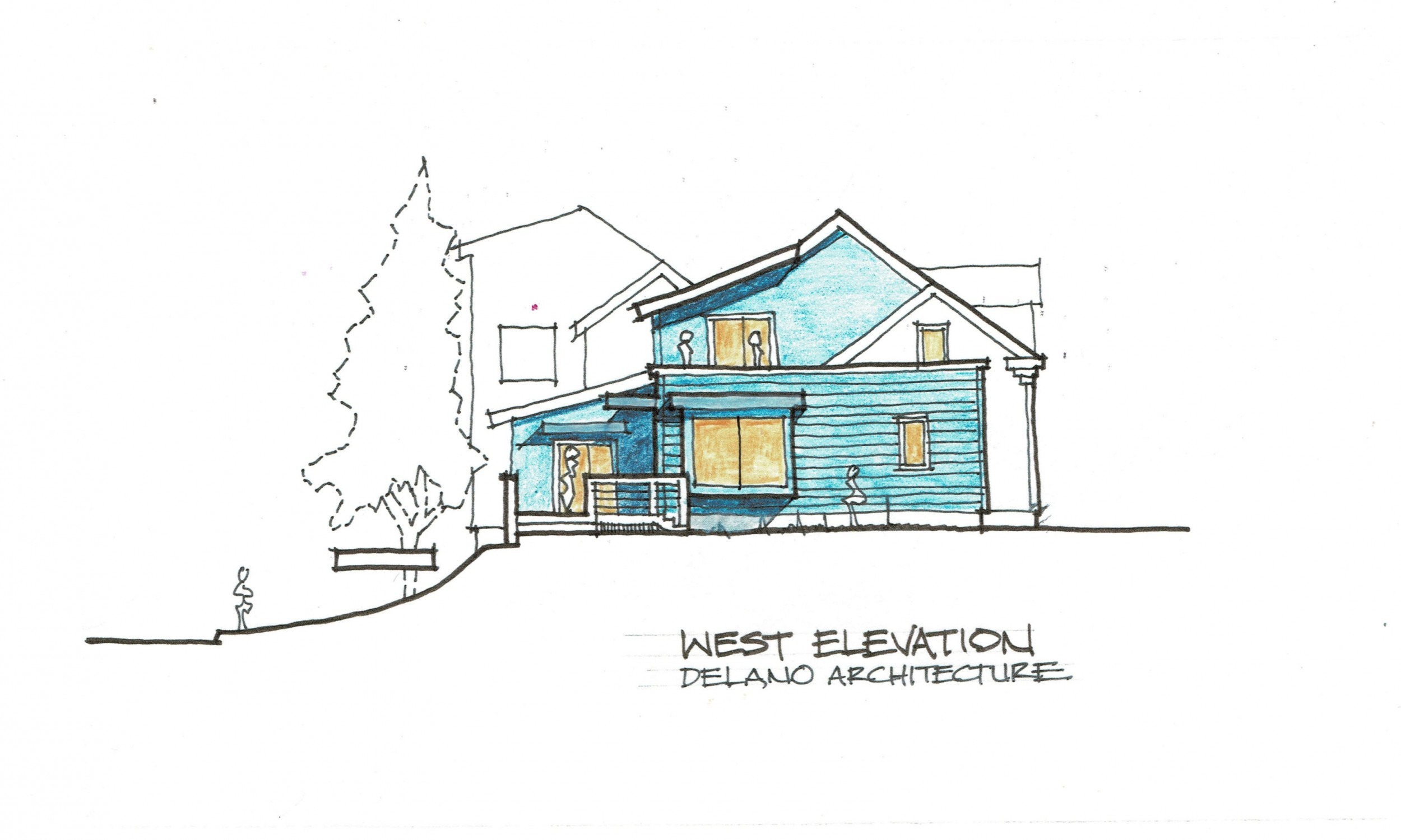 Architect rendering, South Portland architect, Maine waterfront