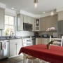 Kitchen, Granite counters, Maine Architect