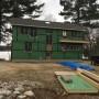 Construction Photo, Zip R-sheathing, High Energy Performance, Green Design, Maine Architect