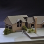 Design Model, garage addition, Maine Architect