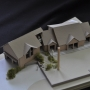 Design Model, garage addition, roof deck, Maine Architect