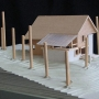 Architecture model, Maine Architect, Design Model, Basswood model