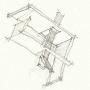 Architect sketch, Architecture, Design idea, pencil sketch